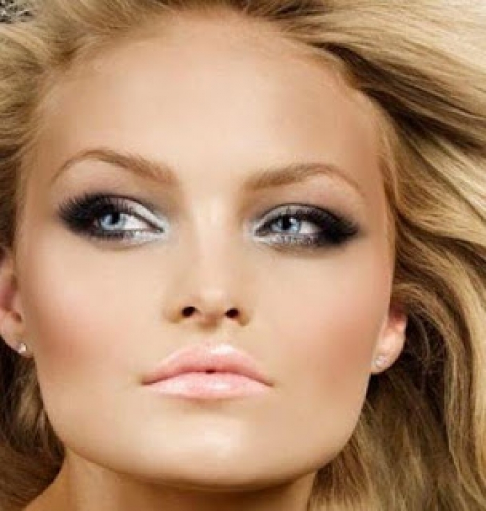 Bridal Makeup For Blue Eyes And Brown Hair : Jaki makijaz do niebieskich oczu - Akademia Metamorfoz